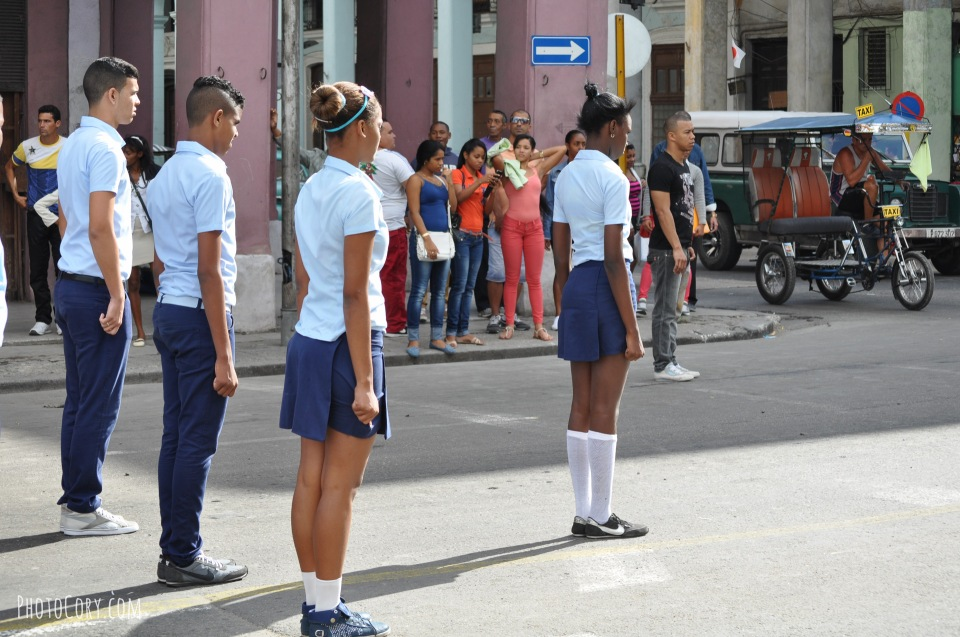 students jose marti day cuba