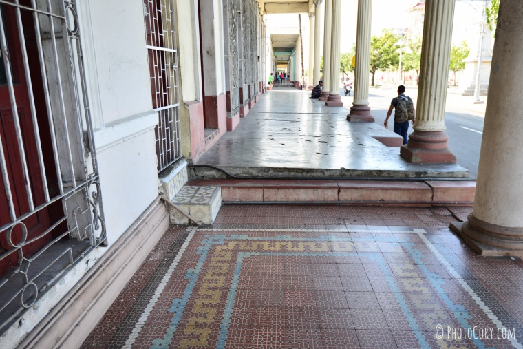 tiles floor building cienfuegos