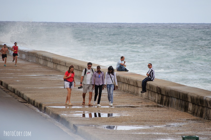 waves malecon