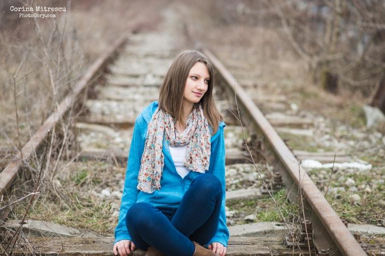 poza pe calea ferata