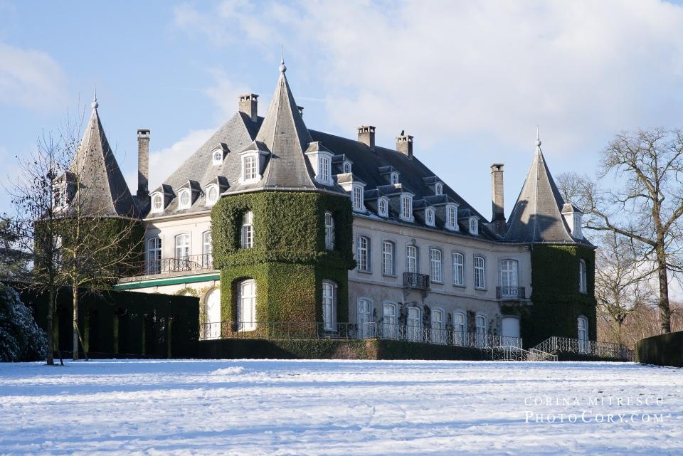 chateau de la hulpe, hiver