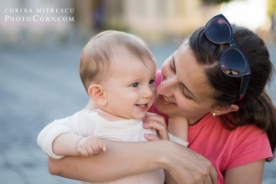 portret mama si bebe
