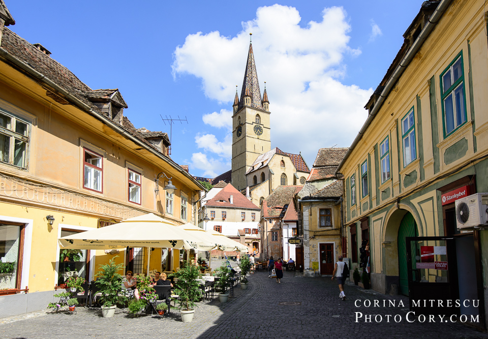 Sibiu turnul cu ceas